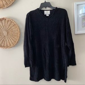Express Tricot Chenille Feel Sweater W Large